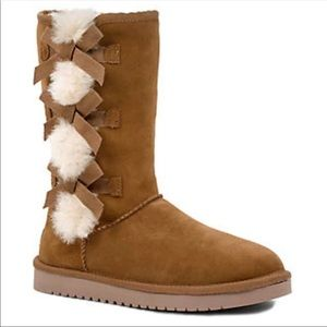 NEW Koolaburra UGG 6 Victoria tall shearling boots